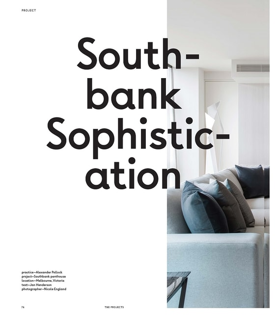 luxury interior design - INSIDE - South-bank Sophistication