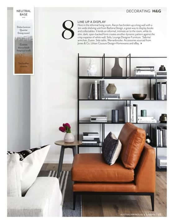House And Garden feature - Decorating H&G