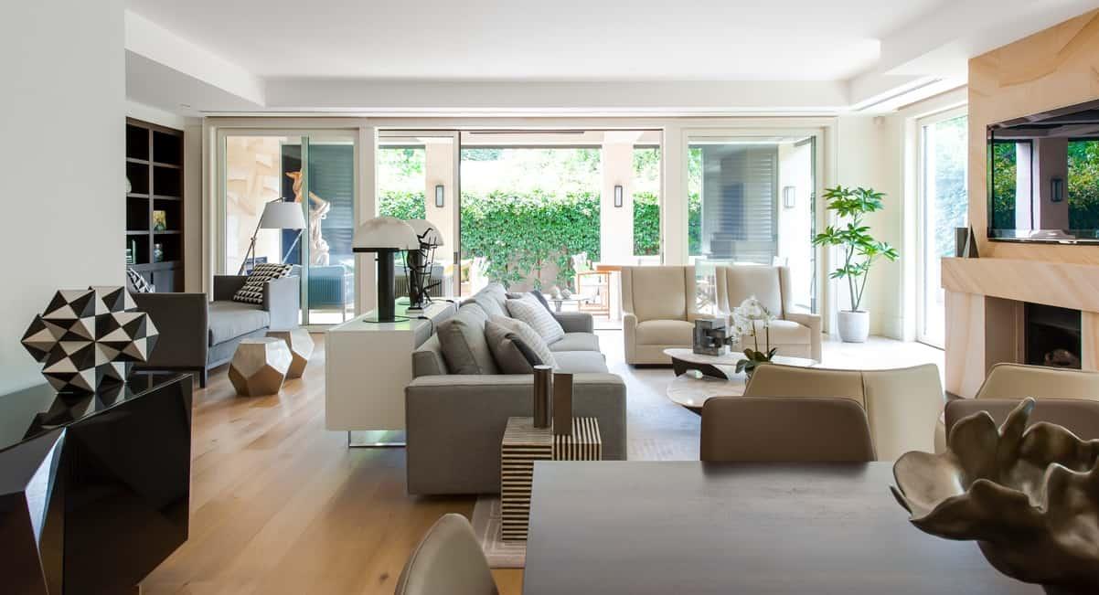 south yarra penthouse. Black Bedroom Furniture Sets. Home Design Ideas