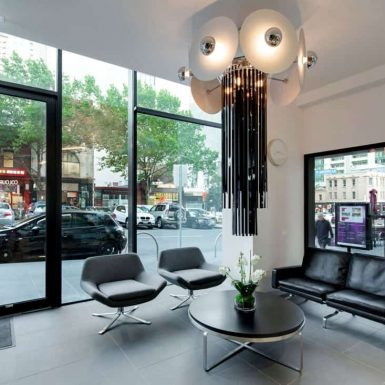 The K Salon interior decor