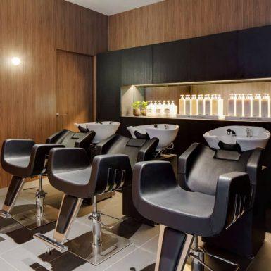 The K Salon interior design