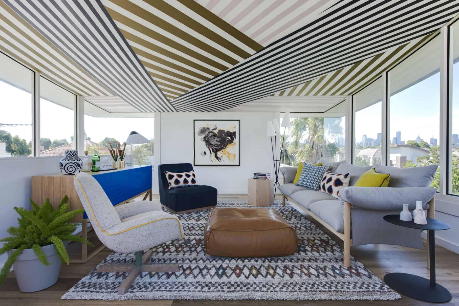 Port Melbourne Beach House interior design
