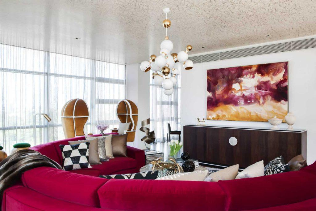 Southbank Penthouse interior design