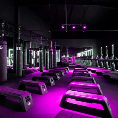 F*IT Gym Interior Design