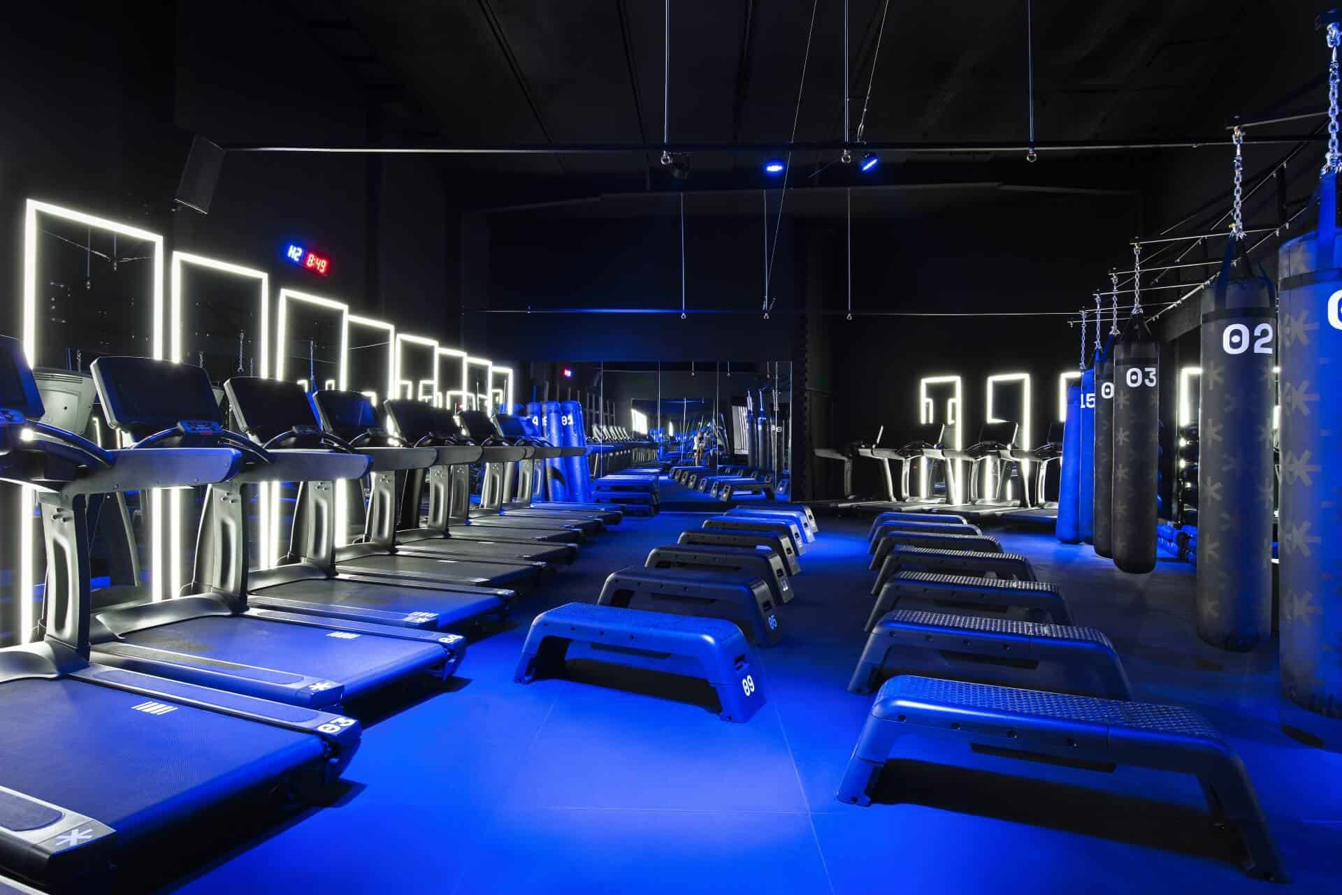 gym interior design