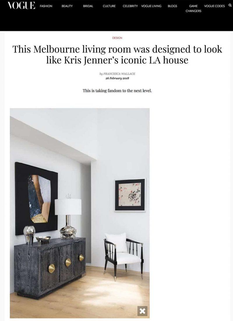 vogue interior design feature