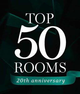 Top 50 rooms award